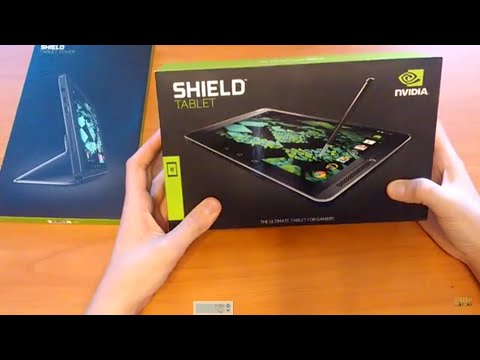 Обзор планшета NVIDIA SHIELD TABLET+ Тест Игр!!!!!!(review tablet + Test Games!!!!!!)