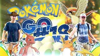 Zagrajmy w Pokemon GO (odc. #18 ROWERY, JAJKA 10KM, EWOLUCJE, GO PLUS)