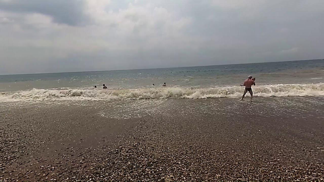 Волны на черном море - youtube.