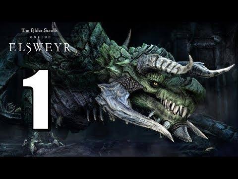 Let's Play Elder Scrolls Online: Elsweyr BLIND (Gameplay / Walkthrough) [Part 1]