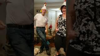Grandma & Pops Birthday Chicken Dance - June 22, 2019
