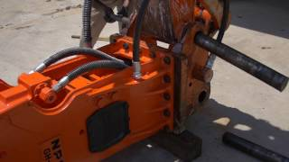 Installation, Removal, And Storage - Npk Hydraulic Hammer Service Instructional