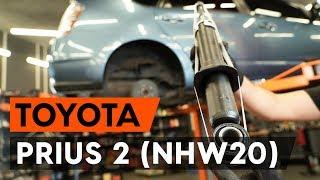 Montaż Amortyzator przednie i tylne TOYOTA PRIUS Hatchback (NHW20_): darmowe wideo