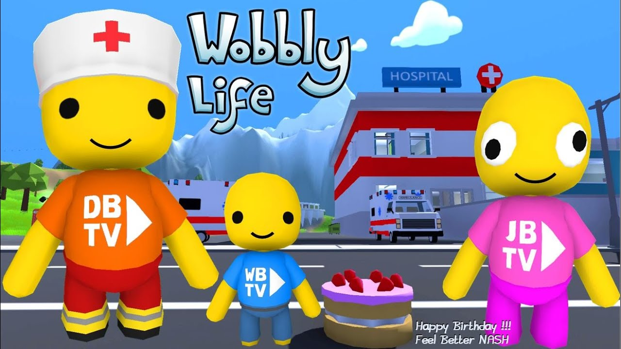 WE HELP A FELLOW WOBBLY FEEL BETTER IN WOBBLY LIFE