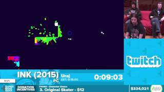 Ink by Uraj in 13:30 - Awesome Games Done Quick 2016 - Part 63 [1440p]