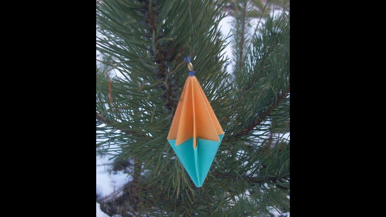 395Как сделать игрушку на елку на улицу