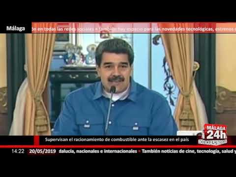Noticia - Las Fuerzas Armadas venezolanas supervisan el racionamiento de combustible