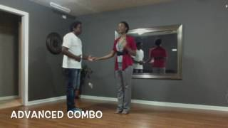 Salsa Lesson Recap: Beginner and Advanced Combinations for 5-7-17