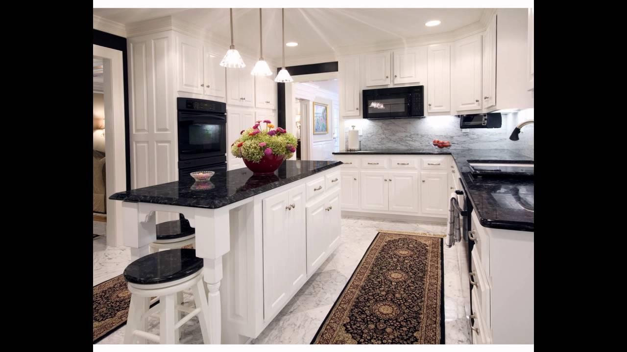 black granite countertops - YouTube on Dark Granite Countertops  id=37631