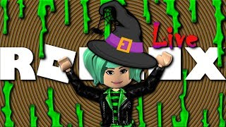 Roblox LIVE Breakfast with SallyGreenGamer SCARY GAMES!