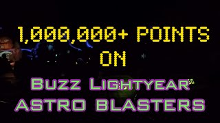 How to get 1st Place in Buzz Lightyear Astro Blasters