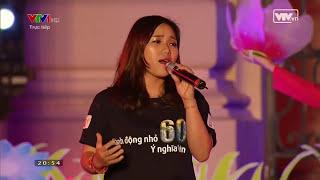 Sống Như Những Đoá Hoa - Tạ Quang Thắng ft. Thuỳ Chi (Giờ Trái Đất 2016)