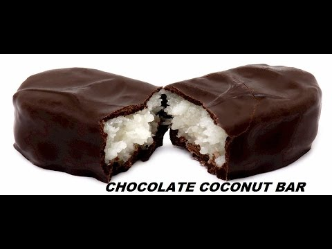 Chocolate Coconut Bar Recipe (Hindi) - Easy Bounty Bar Recipe - Do At Home