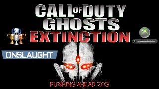 COD Ghosts Extinction Nightfall Ep1 - Pushing Ahead 20G Achievement