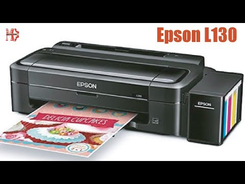 How to Install Epson L130 Printer - YouTube