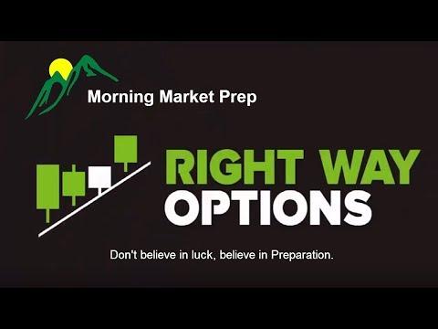 Morning Market Prep   Stock & Options Trading   4-4-18