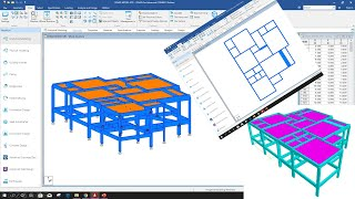Three Storied Building Modeling (Part-2) In Staad Pro