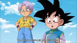 dragon ball super goten and trunks vs snake hd english subtitles