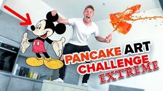 Pancake Art Challenge in NEUER WOHNUNG ! 😱😍 II RayFox