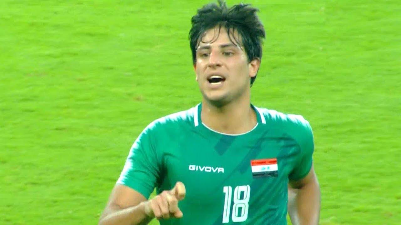 ملخص مباراة العراق وهونغ كونغ   تألق مهند علي ميمي   تصفيات كأس العالم 2022