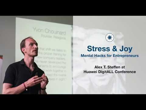 "Alex T. Steffen | Keynote ""Stress & Joy"" at Huawei Digital Conference (English)"