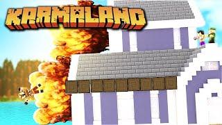 EXPLOTAN MI CASA CON UN HORNO BOMBA!!! KARMALAND #7 | FARGAN