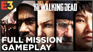 Overkill's The Walking Dead FULL MISSION Gameplay | Polygon @ E3 2018