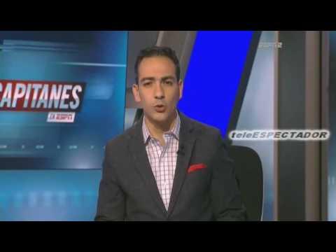El ecuatoriano Angel Mena nuevo jugador de Cruz Azul entrevistado en Los Capitanes