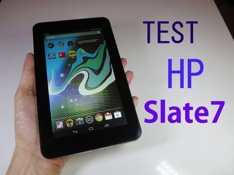 Test de la tablette HP Slate 7
