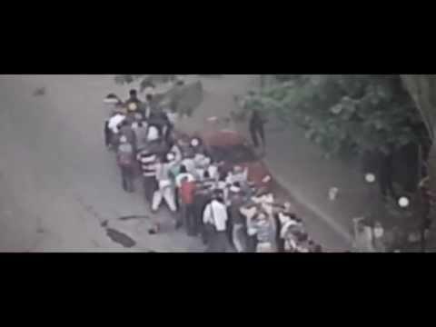 جديد   قنص احد المعتقلين بعد تسليم نفسه في فض اعتصام رابعة
