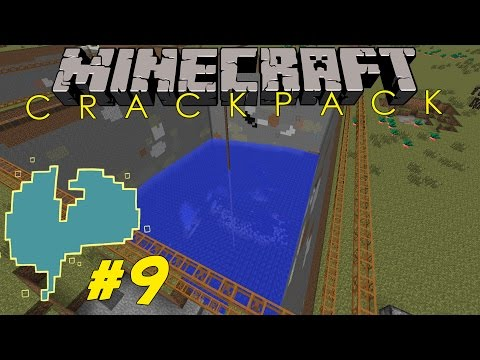 (CAM) Moddad Minecraft | FTB CRACKPACK #9 | STOR FET QUARRY med JNX