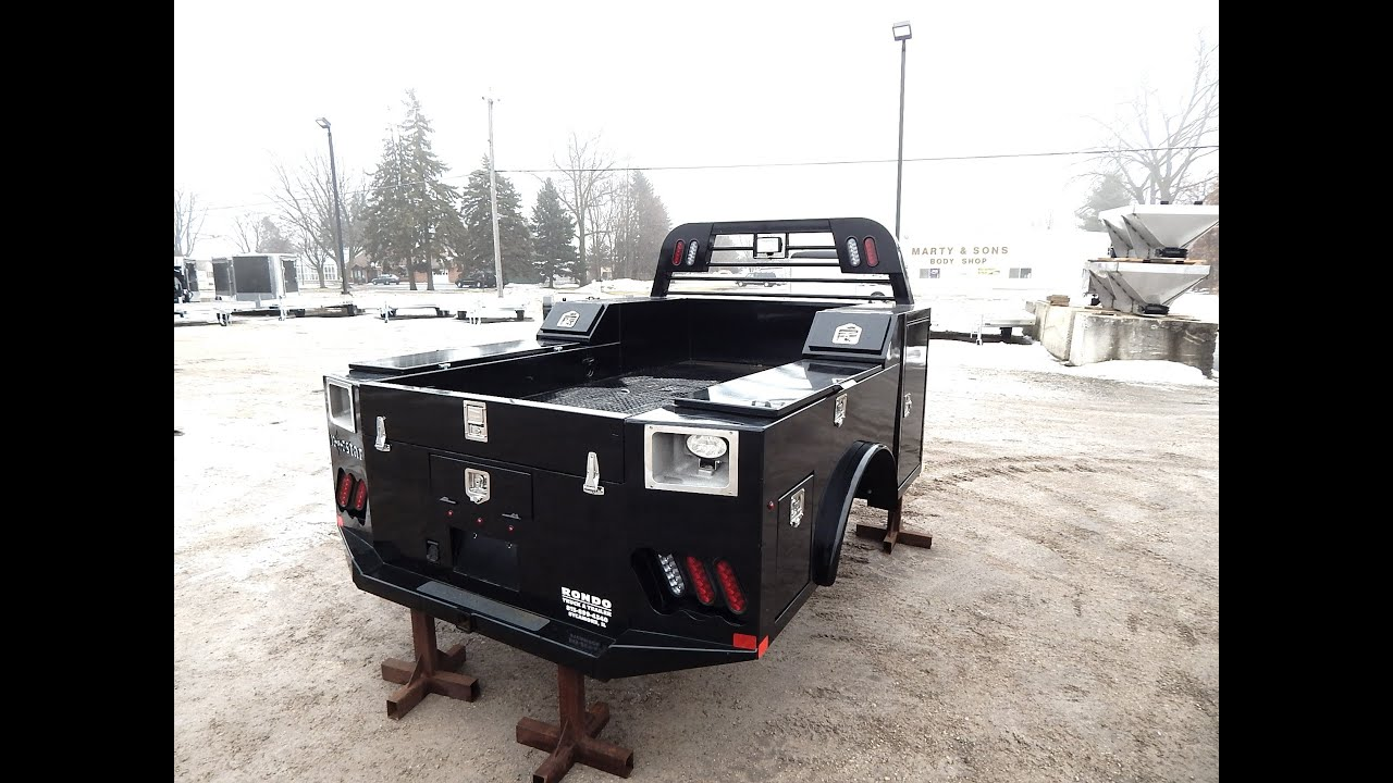 Truck Beds For Sale >> Norstar Sd Truck Bed Youtube