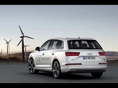 2017 Audi Q7 E-tron TDI Plug In Hybrid Review and View Interior and Exterior