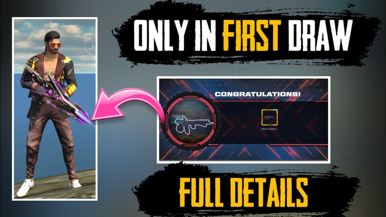 Get Famas Skin In First Draw Craft Your Own Weapon Full Details Freefire Free Weapon Skin