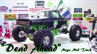 "New Axial Gravedigger turns ""Dead Ahead"" BOMB PROOF Mega Mud Truck! Aug. 27/2016"