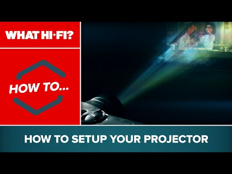 How to set up your projector
