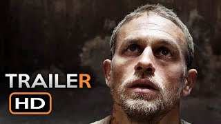 Papillon Official Trailer #1 (2018) Charlie Hunnam, Rami Malek Prison Drama Movie HD