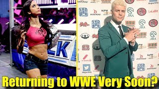 5 Wrestlers That Might Return To The WWE VERY SOON!