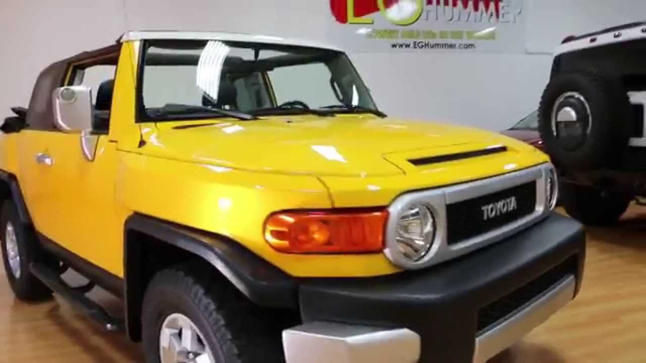 ~~SOLD~~2008 Toyota FJ Convertible For Sale~Very Rare Beautiful Truck!    YouTube