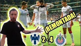 ¡REMONTADA Y PARTIDAZO! Reacciones Monterrey 2-4 Chivas
