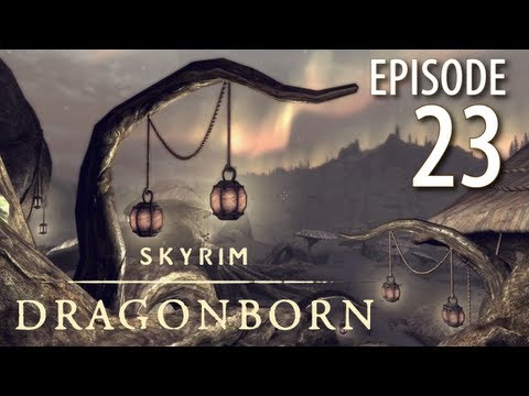Skyrim: Dragonborn DLC in 1080p, Part 23: A Warm Welcome at Nchardak and Decapitation (PC, GTX680) - 동영상