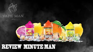 REVIEW MINUTE MAN TINH DẦU MỸ SIÊU THE MÁT | VAPE MAN Review