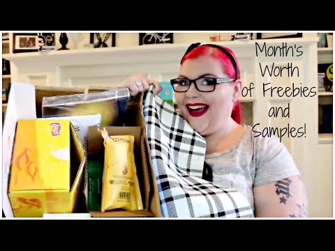 Month's Worth of Freebies & Samples!