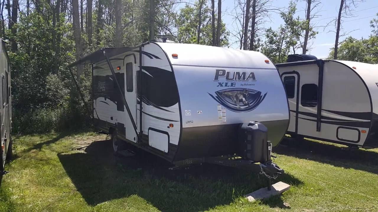 puma 2017 travel trailer
