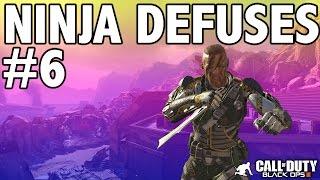 BO3: NINJA DEFUSE MONTAGE! #6 (Ninja Defuses, Funny Moments & Trolling)