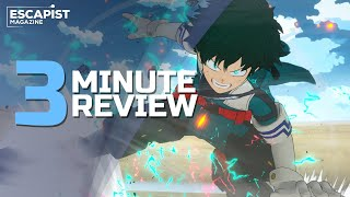 My Hero One's Justice 2 | Review in 3 Minutes (Video Game Video Review)