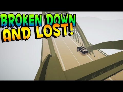 Jalopy Game | BROKEN DOWN, LOST AND SCARED | Lets Play Jalopy Gameplay & Funny Moments - Part 16
