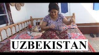 Uzbekistan/Bukhara (Visit an Uzbek Family)  Part 15