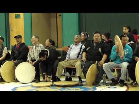 Whale festival dances