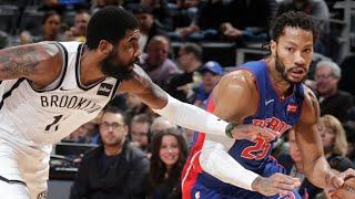 Brooklyn Nets vs Detroit Pistons Full Game Highlights | January 25, 2019-20 NBA Season